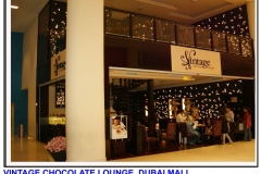 Vintage Chocolate Lounge - Dubai Mall